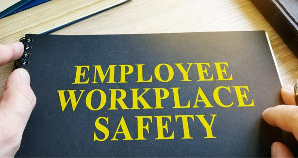 Image of an employee workplace safety handbook